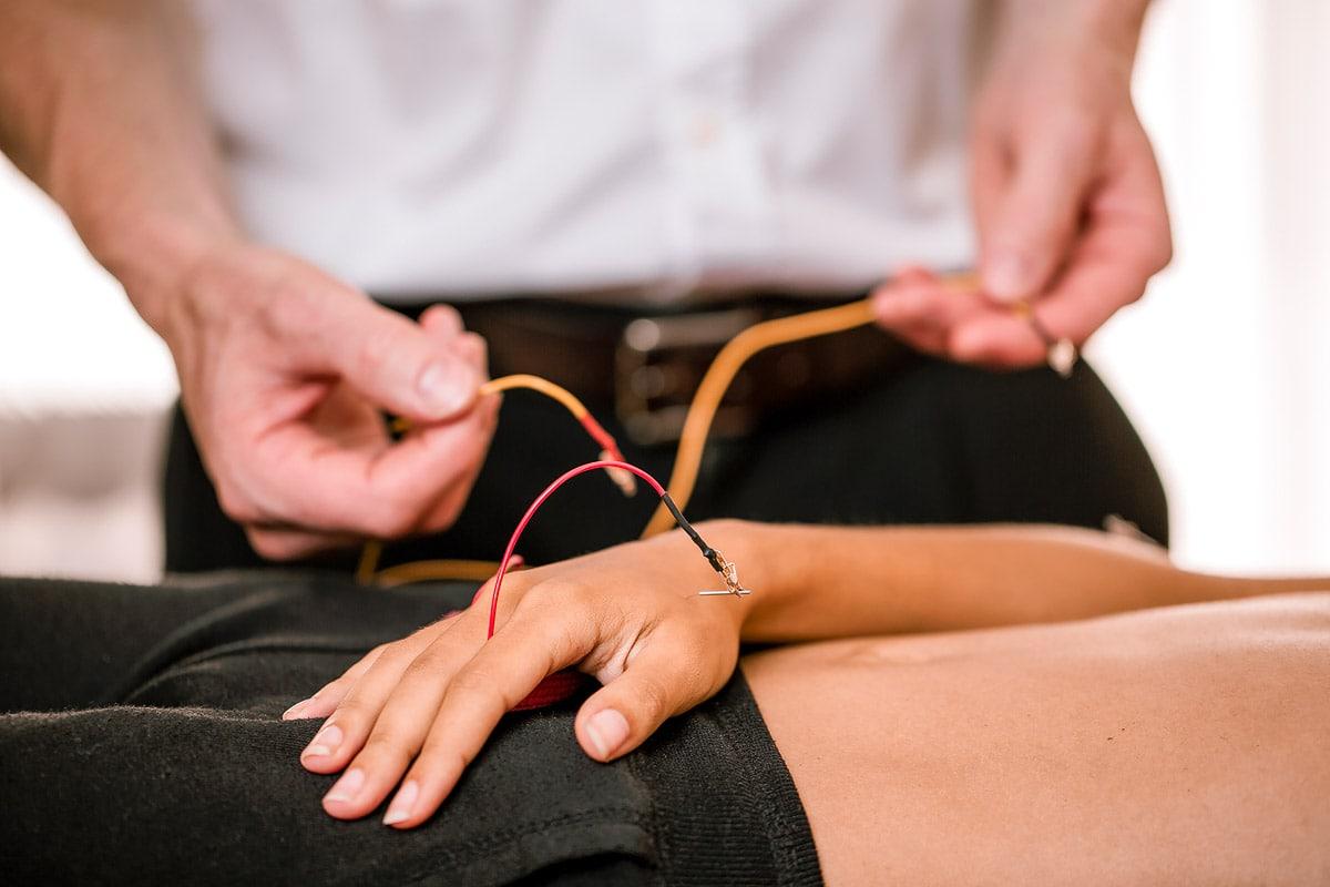 Elektro-Stimulations-Akupunktur, esa, akupunktur, 2